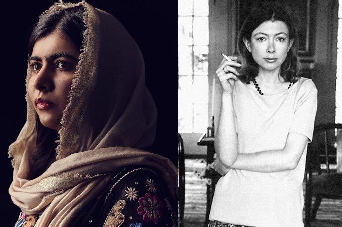Malala e Joan Didion