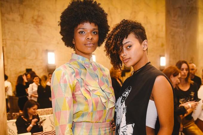 Vaneza Oliveira e a filha Emily