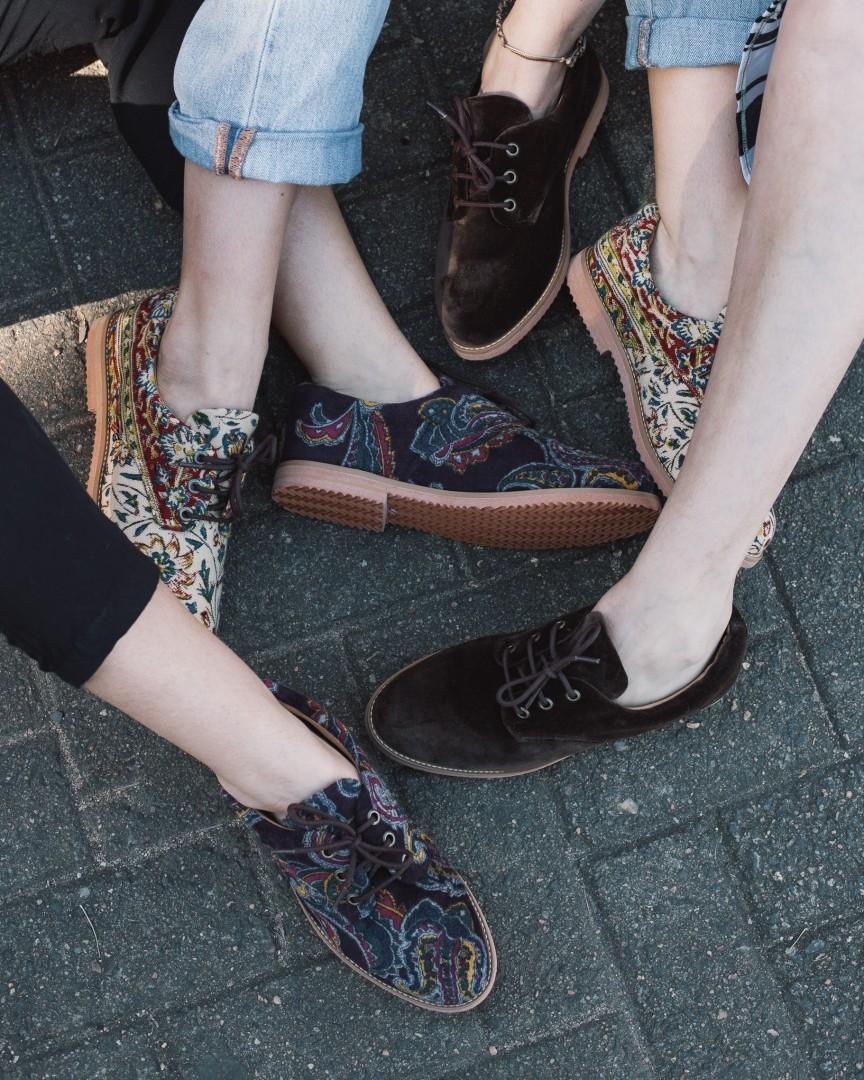 Sapatos veganos