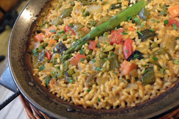 Receitas-vegetarianas paella