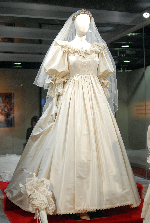 Vestido de casamento da Princesa Diana