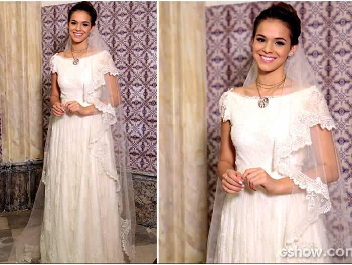 Bruna Marquezine de noiva