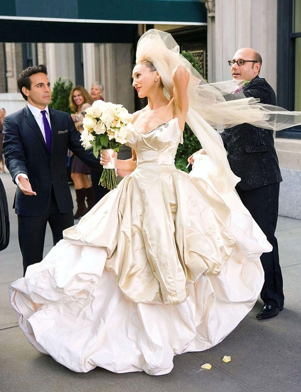 Vestido de noiva Carrie Bradshaw