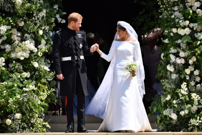 Vestido de noiva Meghan Markle – casamento real – Harry e Meghan