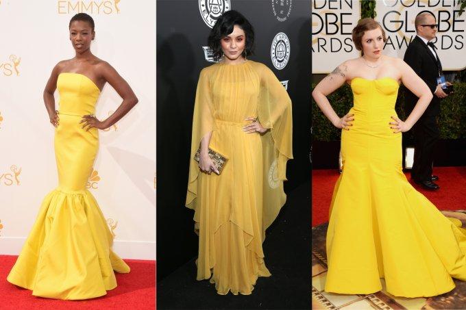 Vestidos de festa amarelos a partir de R$ 80
