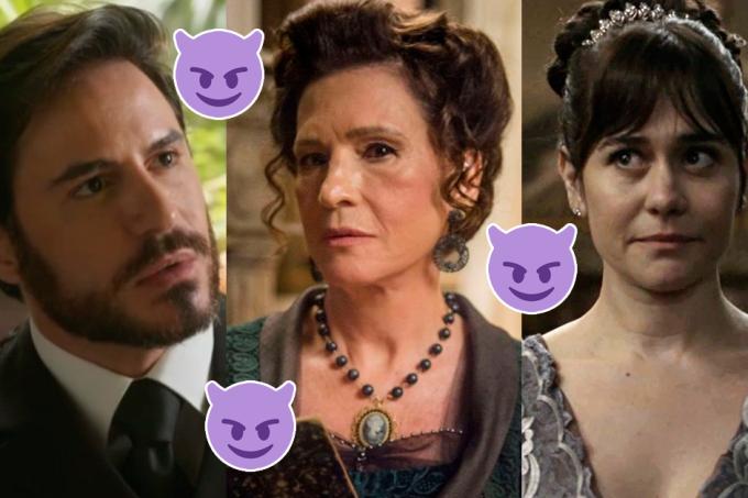 Vilões da novela Orgulho e Paixão, Xavier, Lady Margareth e Susana