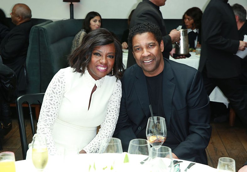 Viola Davis e Denzel Washington