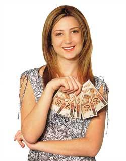 Empréstimo fácil, dinheiro no bolso