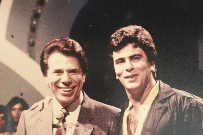 Wagner Montes e Silvio Santos