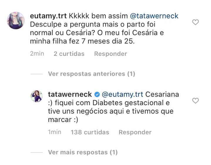 Instagram Tatá Werneck