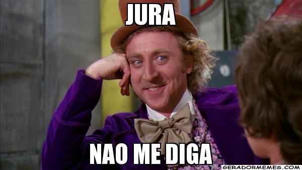 Meme Willy Wonka jura