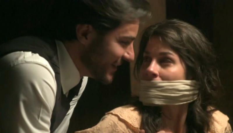 Xavier prende Mariana na novela Orgulho e Paixão