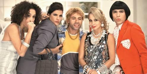 Thalita Carauta e Rodrigo Sant'Anna comentam o sucesso de Janete e Valéria