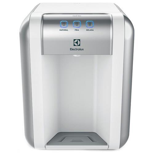 Com painel touch, o purificador de bancada PE 11B (25 x 28,4 x 33 cm), da Electrolux, oferece três opções de temperatura e avisa a hora de trocar o filtro. Pontofrio.com.br, R$ 359.