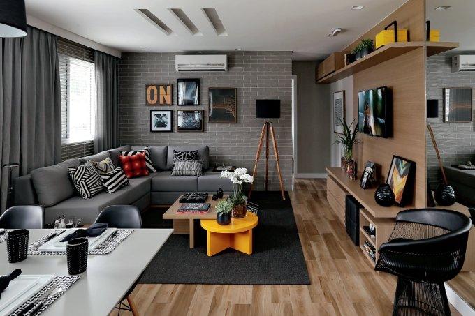 Apartamento pequeno 47 m² de puro aconchego