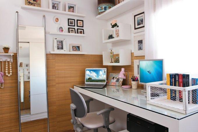 apê de 107 m² ambientes acolhedores e com personalidade home office