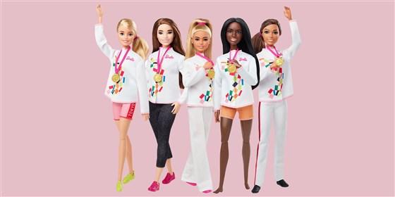 Mattel lança coleção de Barbies esportistas