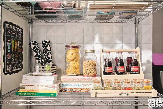 Cozinha e lavanderia temperadas com boas ideias
