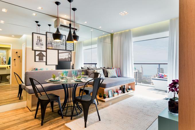 decoração-de-apartamento-pequeno-40-m2-muito-bem-aproveitados-sala