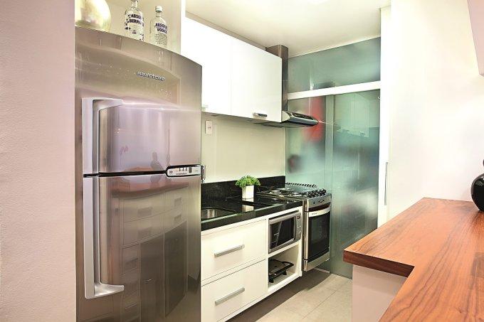 decoração-de-apartamento-pequeno-traz-integração-de-ambientes-cozinha