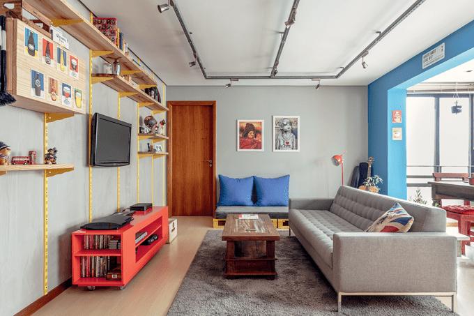 decoração-de-sala-de-estar-descolada-e-economica