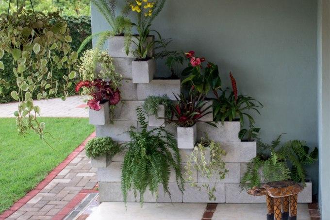Duas sugestões de jardins verticais fáceis de copiar