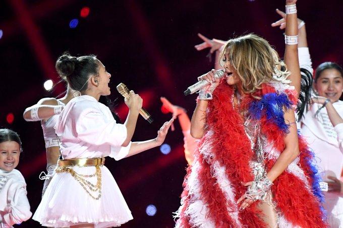 Emme Muniz e Jennifer Lopez