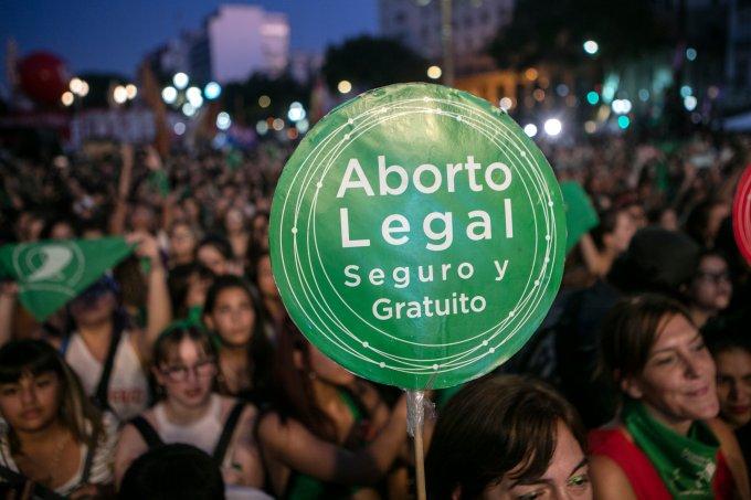 Protesto aborto Argentina