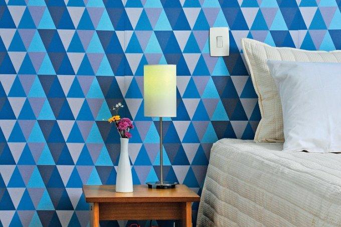 Renove o quarto com tecido adesivo