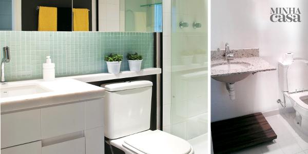 Tudo em ordem no banheiro: Antes e Depois
