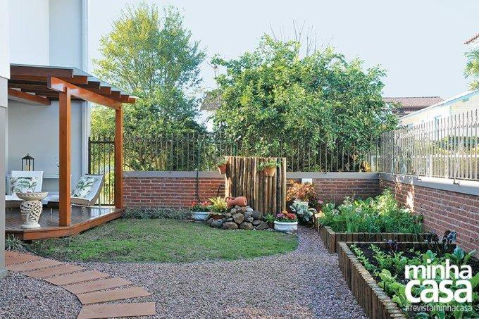 Um jardim para aproveitar em família