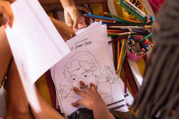 ilustrações de heroínas negras