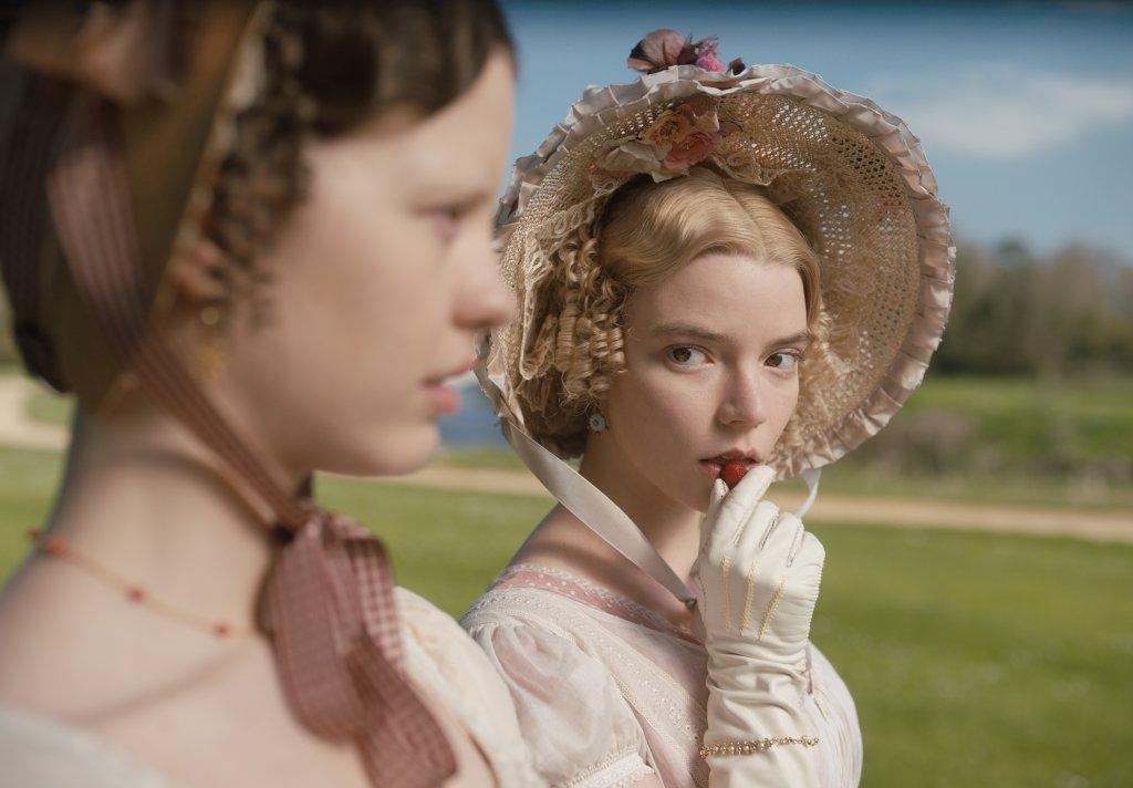 Cena do Filme Emma, do romance de Jane Austen