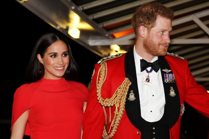 Harry e Meghan Marke