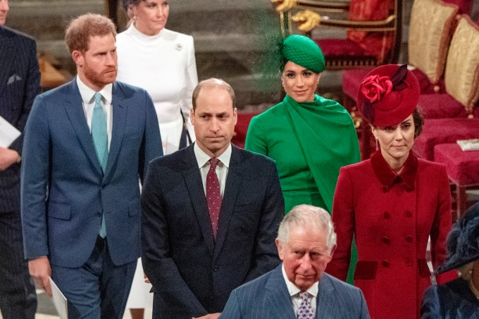 Meghan Markle, Kate midelton, príncipe Harry, príncipe William
