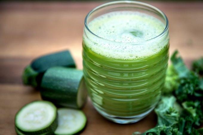 suco verde quarentena