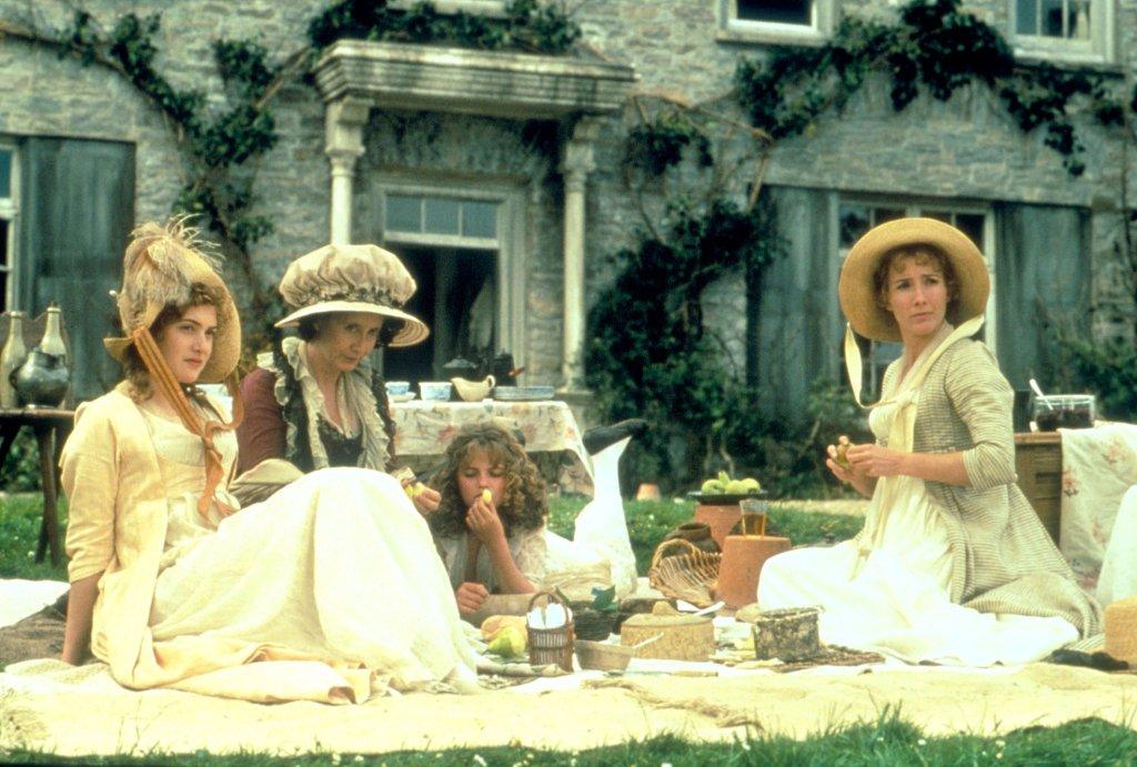 Cena de um picnic do filme Razão e Sensibilidade