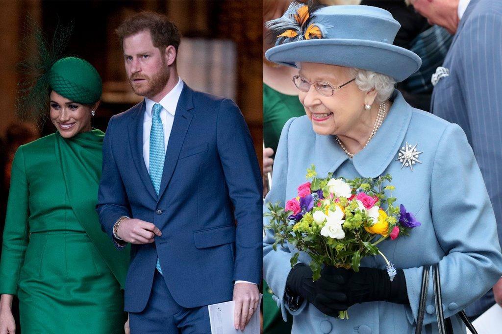 Frieza e educação marcam despedida de William, Harry, Meghan e Kate