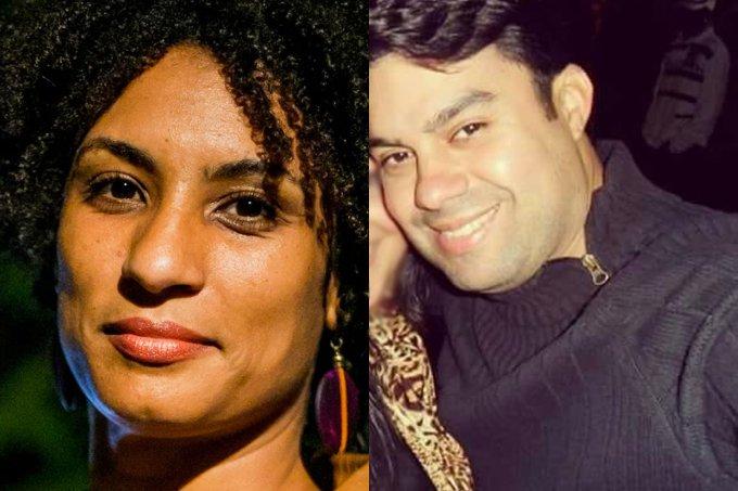 Marielle Franco e Anderson Gomes