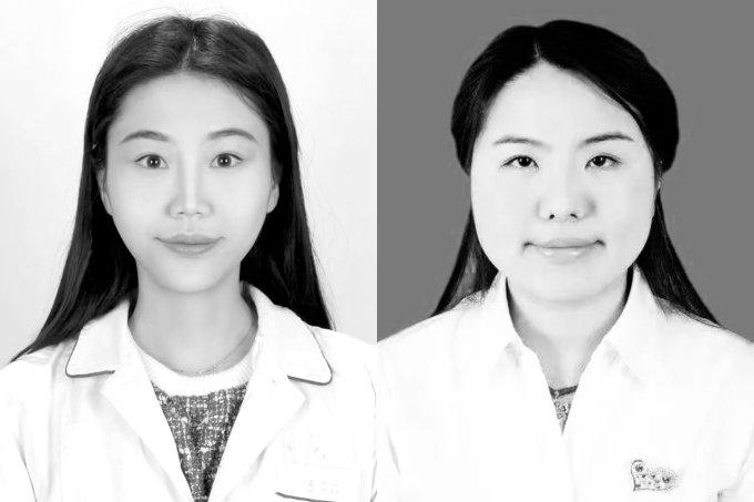 médica e enfermeira wuhan