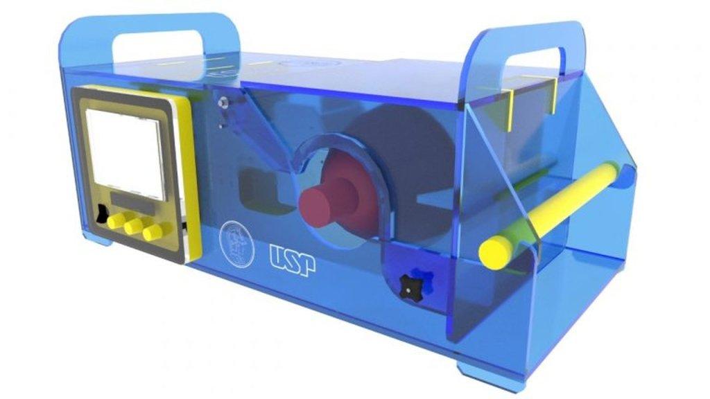 Respirador criado por grupos de engenheiros da Poli-USP é produzido em duas horas e tem baixo custo