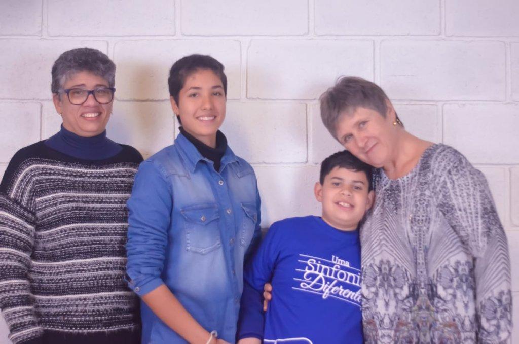 Francisco e família