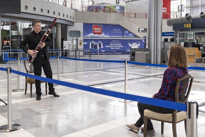 fagotista aeroporto