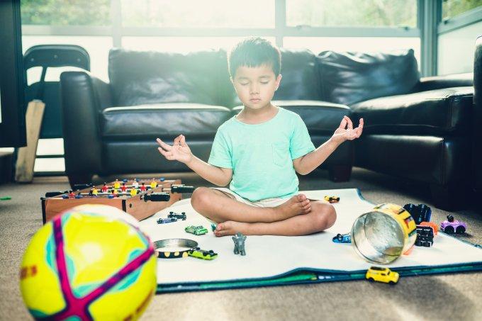meditação para crianças na quarentena