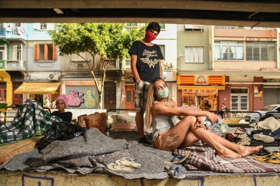 Transexuais em situação de rua em meio à pandemia