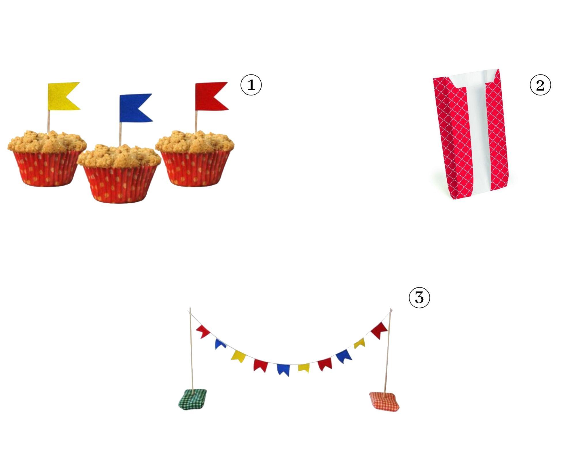 produtos para fazer sua própria festa junina em casa