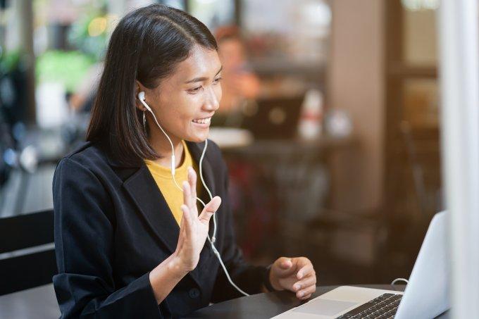 Entrevista de trabalho virtual