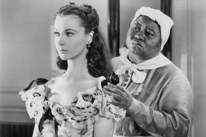 Vivien Leigh e Hattie McDaniel In 'Gone With The Wind'