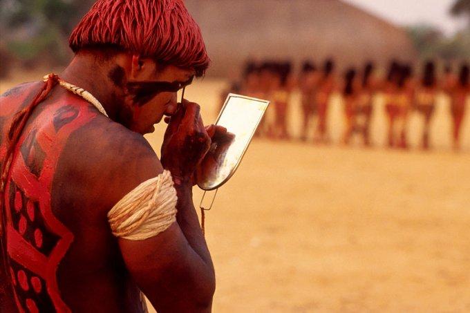 Indígena no Xingu