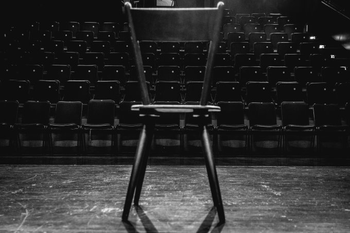 Empty Chairs At Theatre